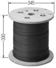 PVC被覆付ワイヤーロープ