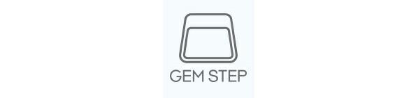 ピカ 樹脂製カラー踏台 GEM STEP ブルー (GEMS-LU)