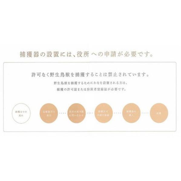 捕獲器 D type No.303 対象動物タヌキ・ ヌートリア