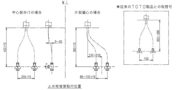 ワンホール混合栓