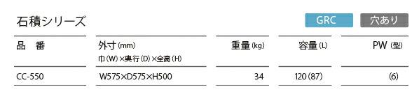 石積(プランター)