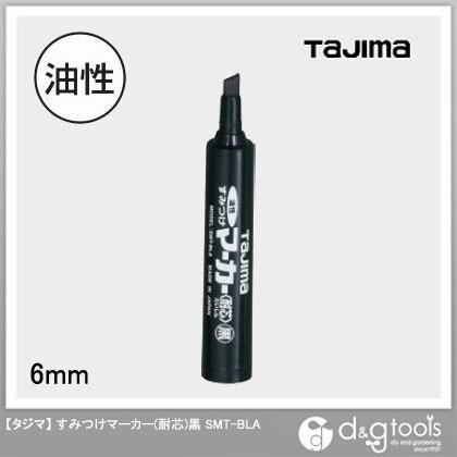 TJMデザイン(タジマ) タジマすみつけマーカー(耐芯)黒 SMT-BLA
