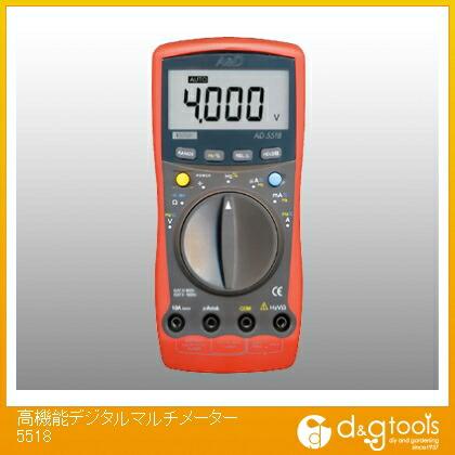 【送料無料】トップウェル 高機能デジタルマルチメーター5518 F2AD5518