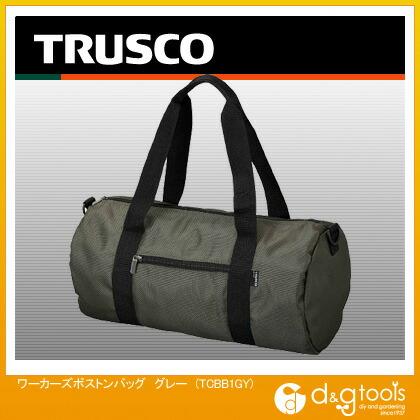 TRUSCO ワーカーズボストンバッググレー TC-BB1-GY