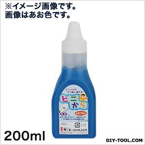ビニから(水性塗料) 赤 200ml VC200006