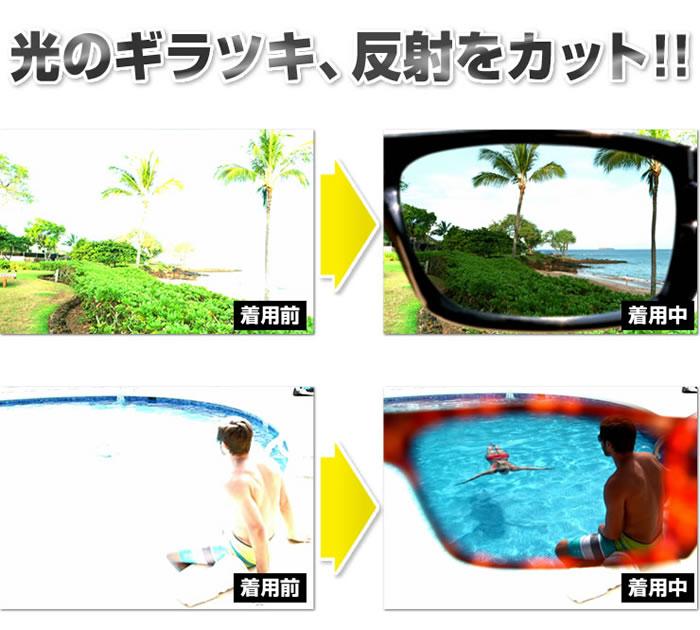 【偏光サングラス】ポラライトHDサングラス2個セット