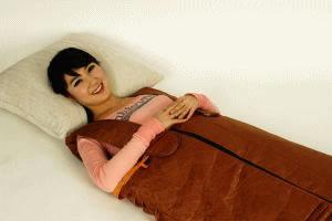 天使の湯衣 半身浴 低体温 普段服を身体を温めてデトックス!