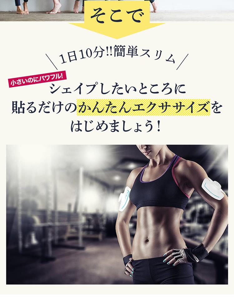 アブトロニックアレクサ(AbtronicAlexer)EMS 腹筋 筋トレ 運動器具 ダイエット 二の腕 ウエスト お腹