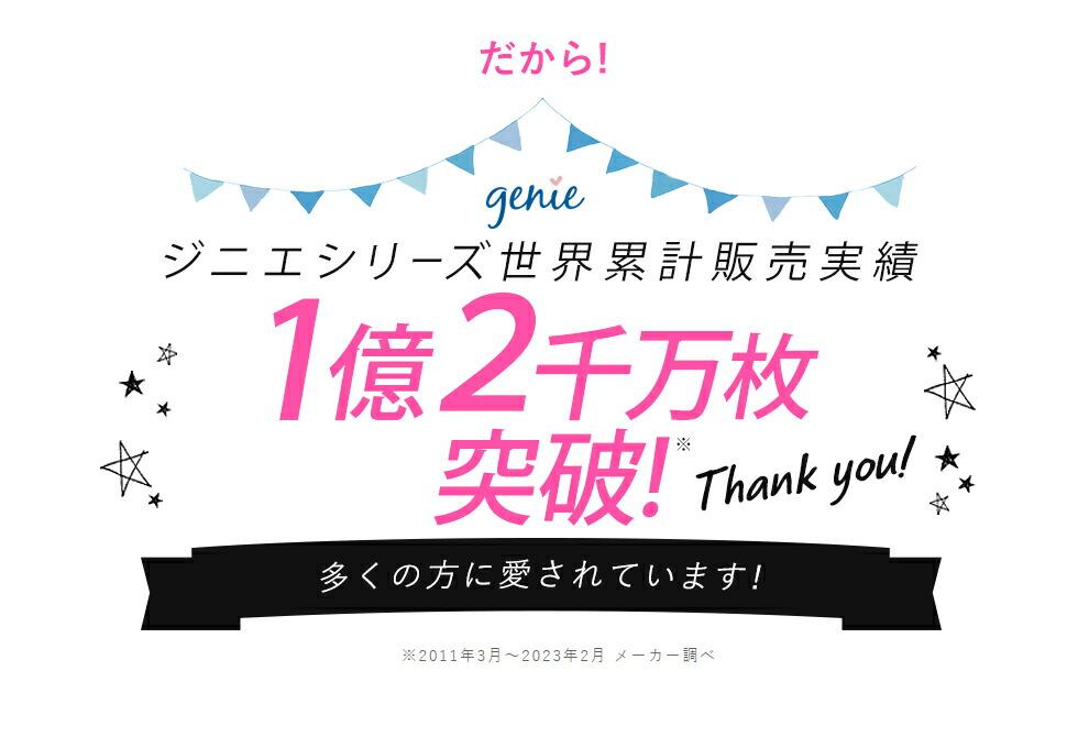 だから!ジニエシリーズ世界累計販売実績 8700万枚突破! 多くの方に愛されています!