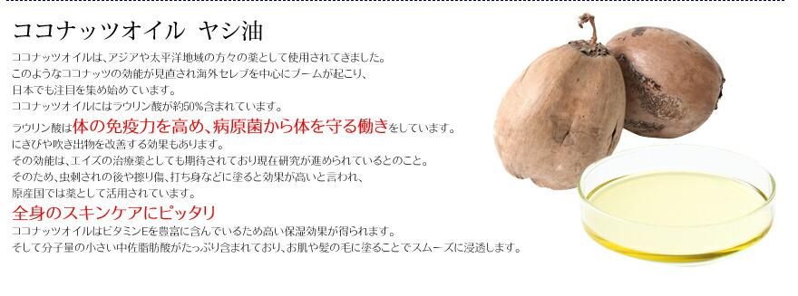 ココナッツオイル ヤシ油