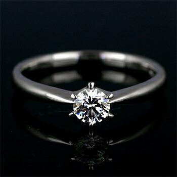 エンゲージリング空枠0.2カラットダイヤモンド用【PT900】クリックで写真が拡大します