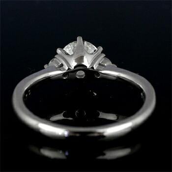 エンゲージリング空枠0.7カラットダイヤモンド用【PT900】クリックで写真が拡大します