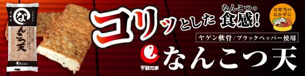 『大阪府知事賞』受賞!宇部かまの「なんこつ天」