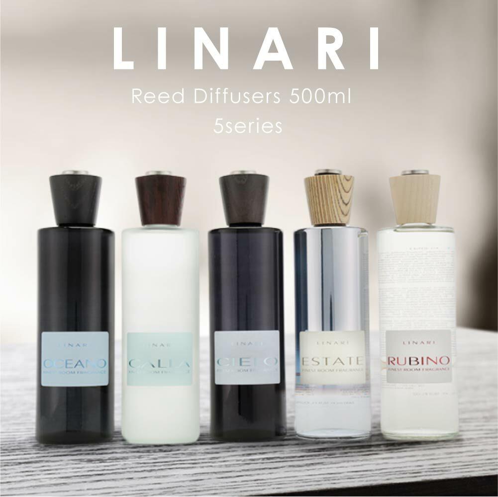 リナーリ LINARI カラー チェロ エスタータ ルビーノ リードディフューザー 500mL