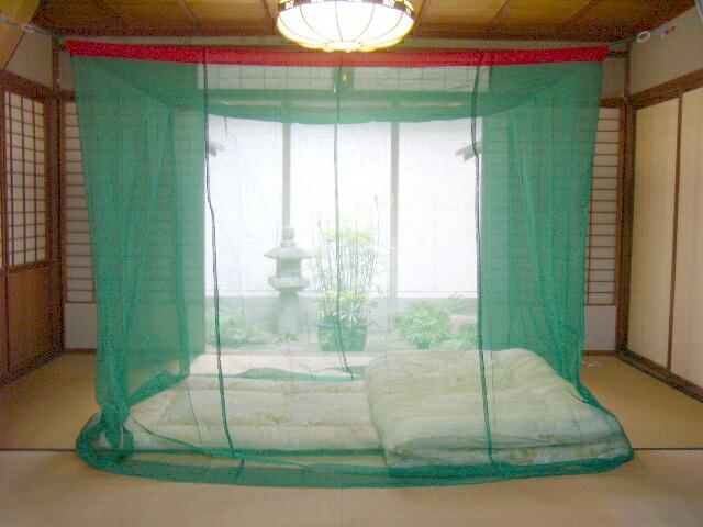蚊帳/緑色/もよぎ