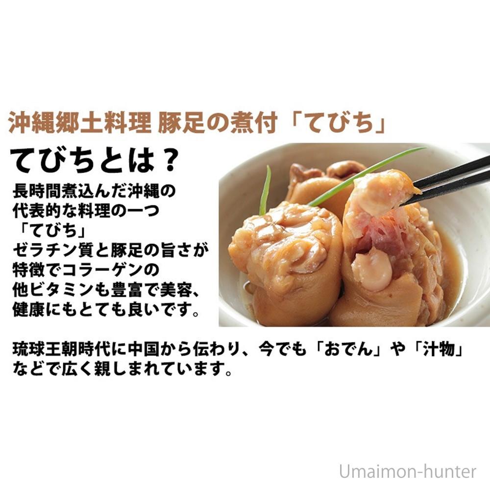 琉球郷土料理てびちSP(豚足煮込み)600g