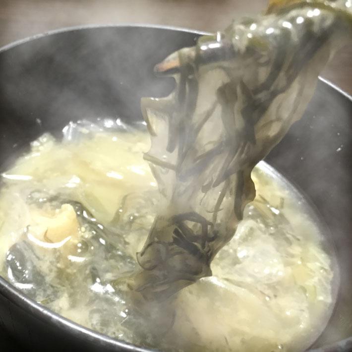 2かじめ味噌汁