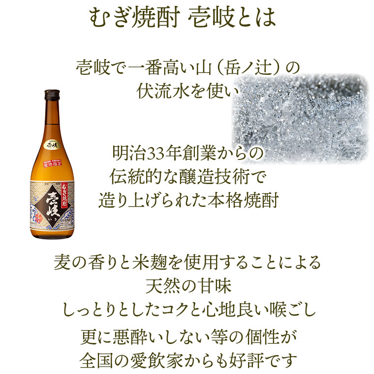 むぎ焼酎 壱岐の商品説明
