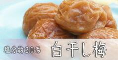 紀州小阪農園の白干梅 うすしお約19%