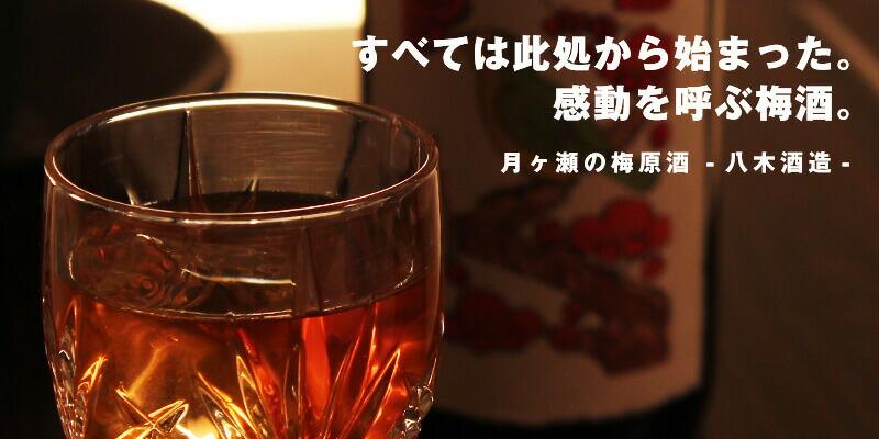 月ヶ瀬の梅原酒