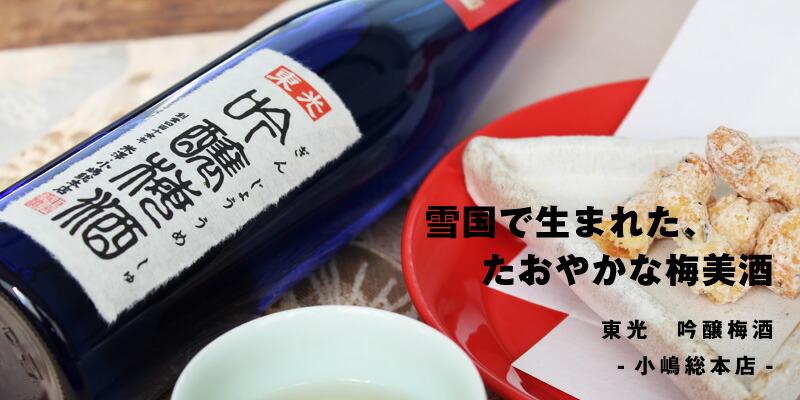 東光 吟醸梅酒 500ml [小嶋総本店]
