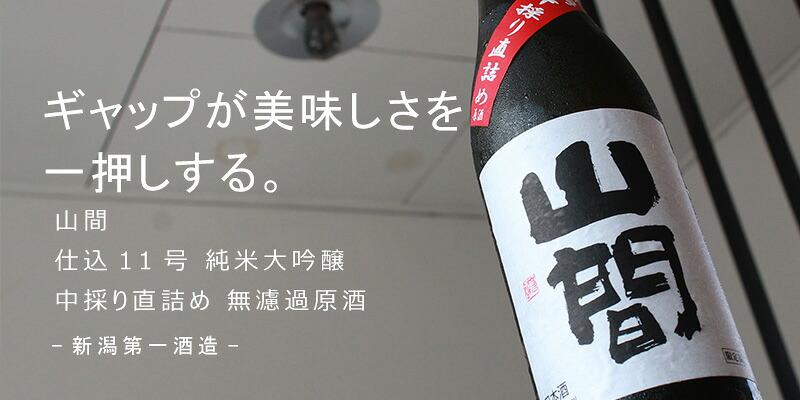 山間 仕込11号 純米