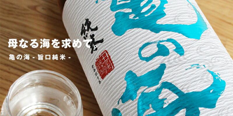 亀の海 旨口純米