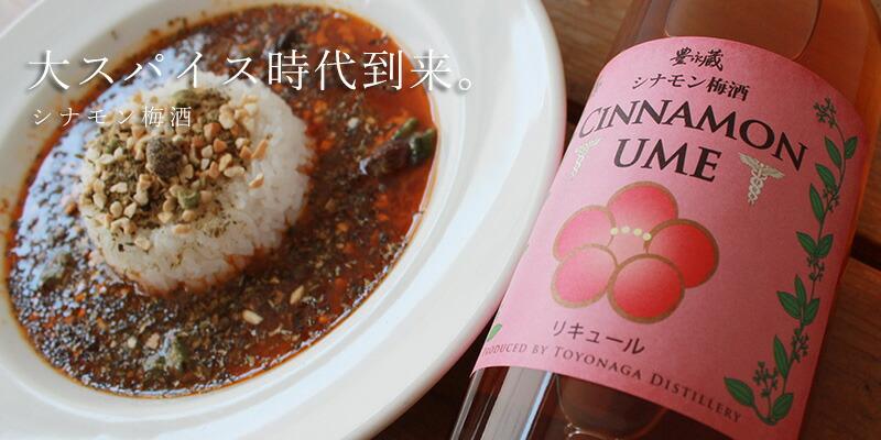 シナモン梅酒 CINNAMONUME 700ml【豊永酒造/熊本県】【焼酎】
