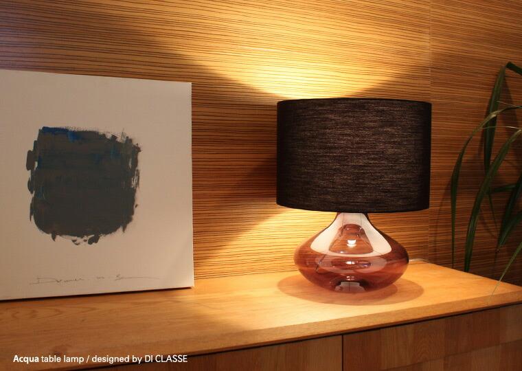 Di classe noble acqua table lamp mozeypictures Images