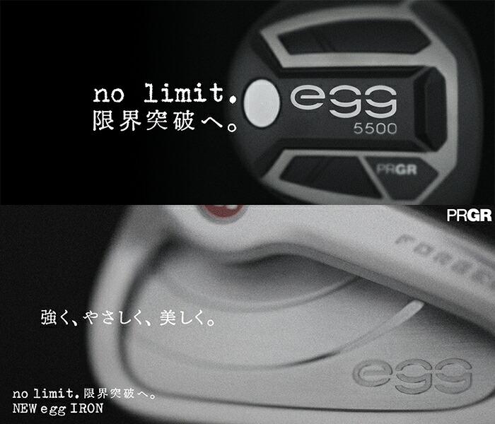 PRGR【プロギア】NEW egg,5500,アイアン,フォージド,2019
