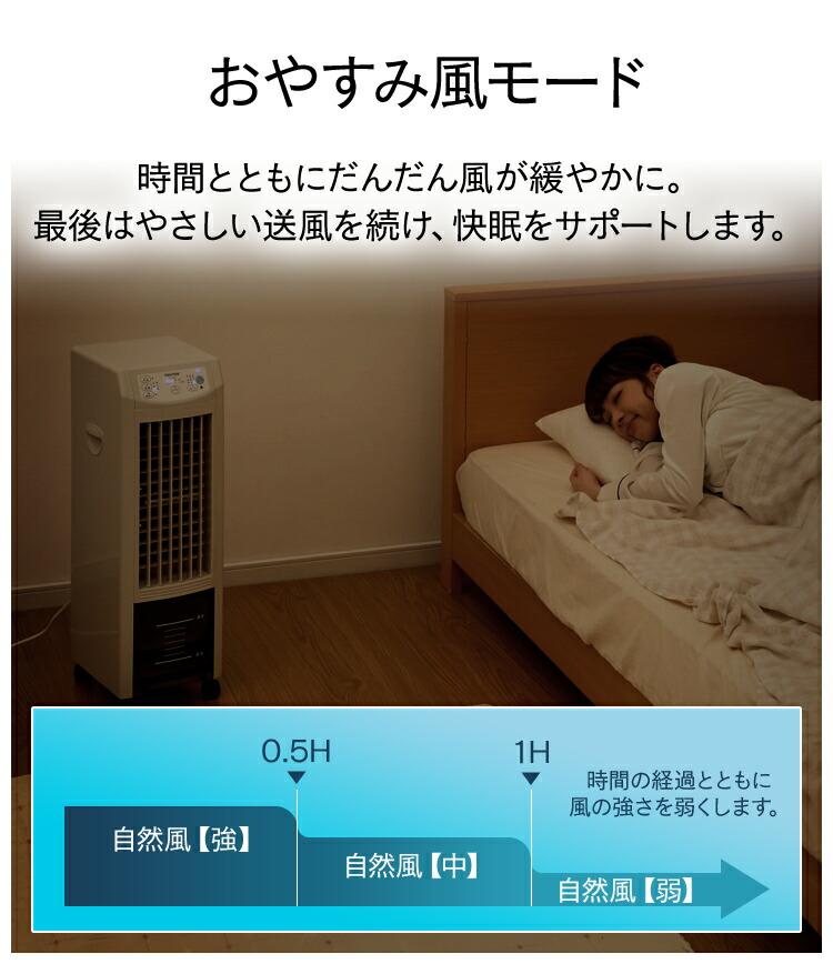 おやすみ風モード
