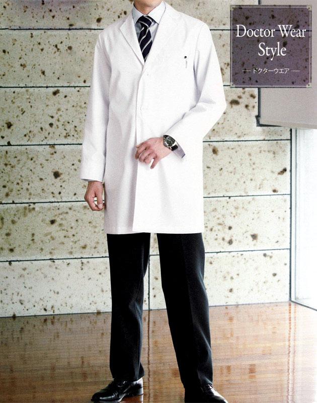 1523ES FOLK フォーク 診察衣ドクターコート