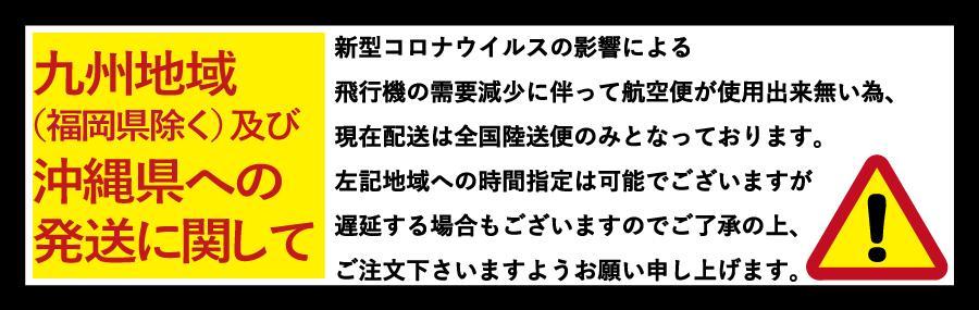 九州・沖縄地方への配送