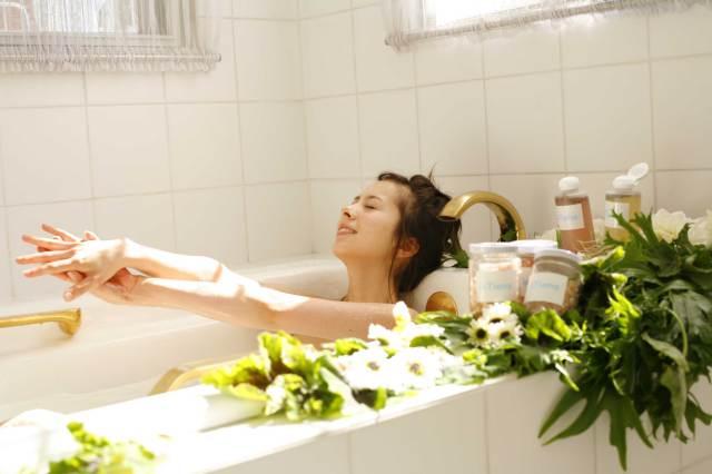アンティアン 天然保湿入浴剤 アロマバスソルトお試しセット「7Days」(分包30g)×7種類