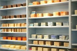固形石鹸製造棚
