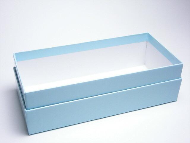 ラッピングサービス[2] 高級艶紙長型手作りギフトボックス(石鹸5〜8個,瓶入りバスソルト3個用)215mm×150mm×80mm