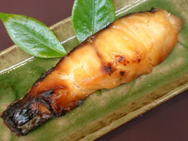 天然真鯛の味噌漬