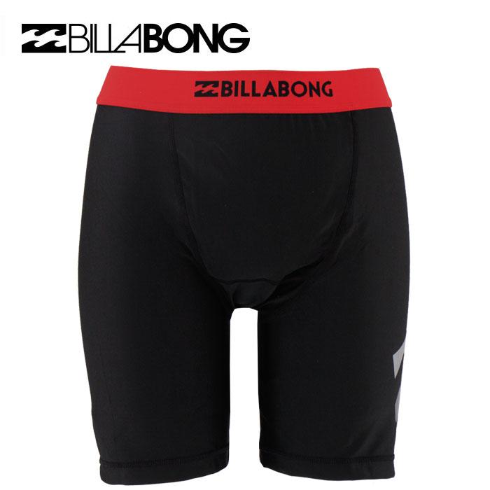 セール BILLABONG(ビラボン) メンズ サーフインナーパンツ インナーサポーター 水着 AG011-490 RED 黒x赤ライン