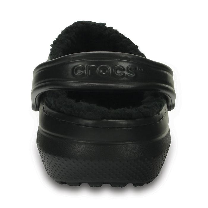 クロックス 冬用サンダル ボア付きサンダル スリッパ CROCS 203591 ブラック