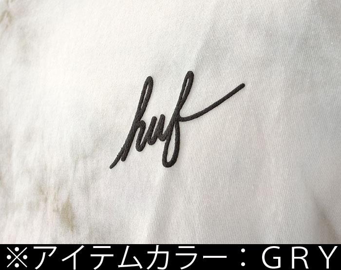 HUF メンズTシャツ ハフ タイダイ柄 Tie-Dye CRYSTAL WASH SCRIPT Tee