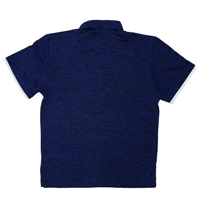 ルコック ゴルフ スポーツ ポロシャツ 半袖 Lecoq 吸汗速乾 ネイビー 襟付き サイクル 半袖機能ポロシャツ