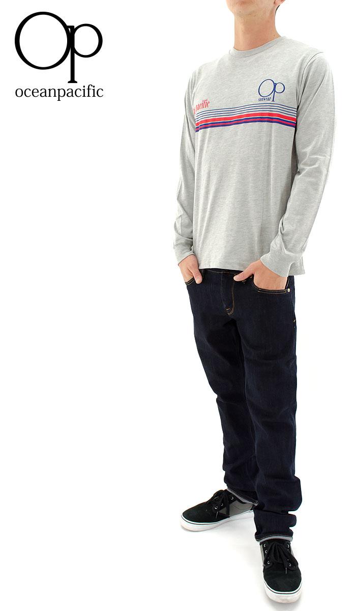【セール】OCEAN PACIFIC オーピー メンズ ロンTEE Tシャツ OP オーシャンパシフィック