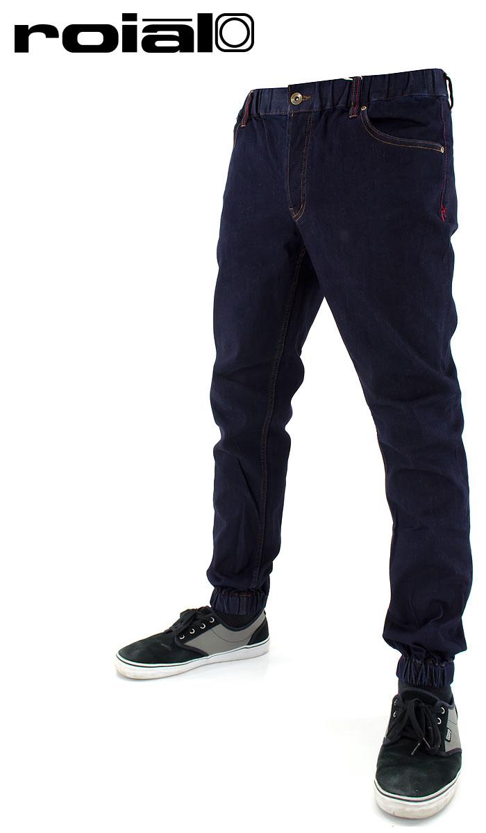 【セール】ROIAL デニム ジーンズ パンツ ロイヤル メンズ イージーパンツ 人気ジョガーパンツ WP285