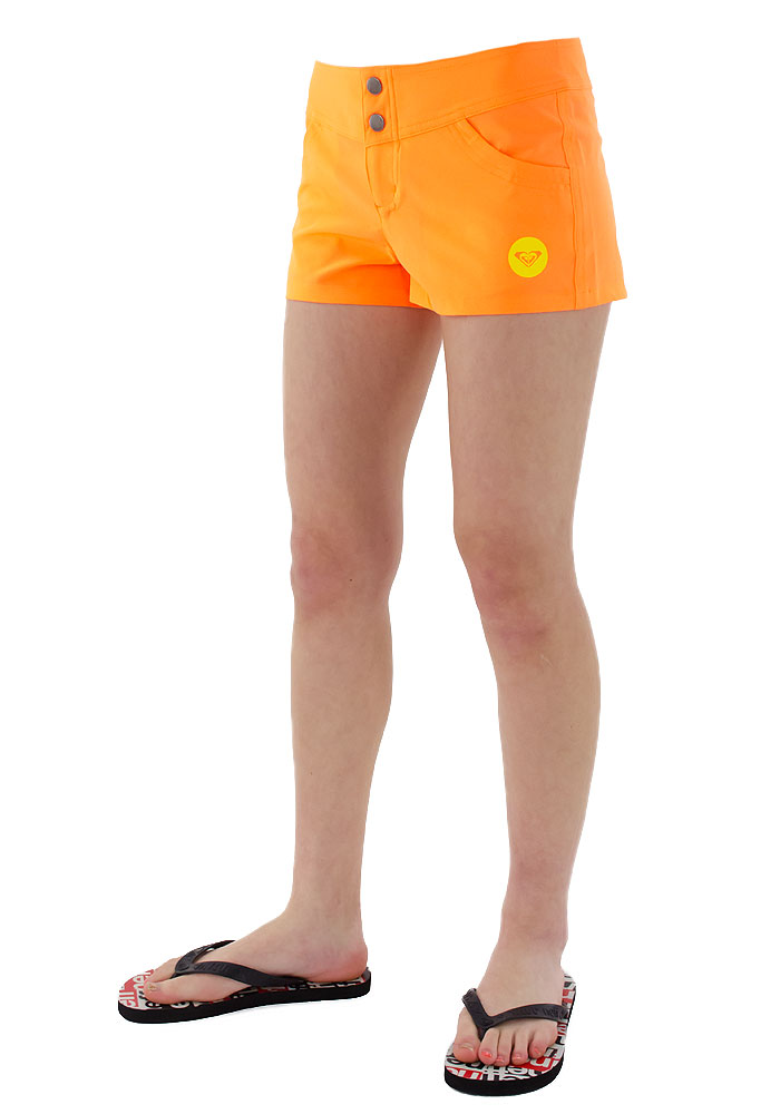 サーフパンツ ロキシー レディース 海パン ボードショーツ ボードパンツ ROXY ロゴ 水着 SUNSET RBS161028