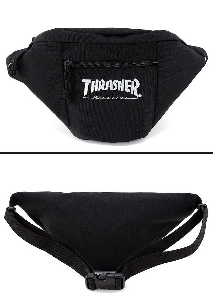 THRASHER ウエストバッグ キッズ バッグ ポーチ スラッシャー ボディバッグ ショルダーバッグ THRCD-200