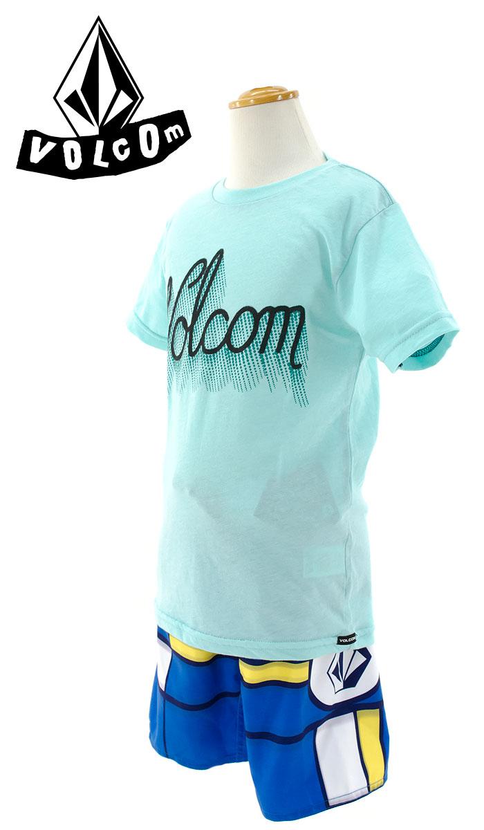 ボルコム キッズ 半袖Tシャツ VOLCOM ジュニアTシャツ カットソー Y5711506 SK8