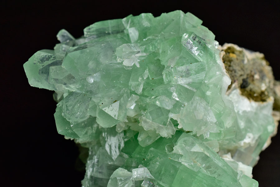 グリーンアポフィライト アポフィライト 魚眼石 クラスター 原石 天然石 パワーストーン