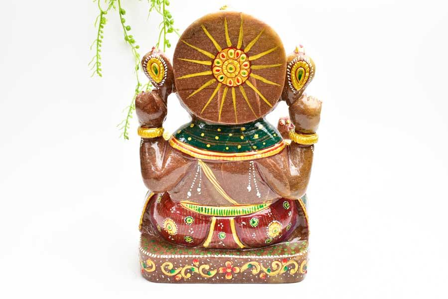 ガネーシャ 置物 ガネーシャ神 お守り レッドアベンチュリン 天然石 パワーストーン