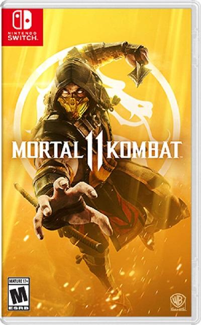 SWITCH Mortal Kombat 11(モータルコンバット11 北米版)〈WB Games〉4/23発売[新品]
