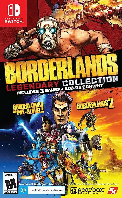 SWITCH Borderlands Legendary Collection 北米版[新品]5/29発売